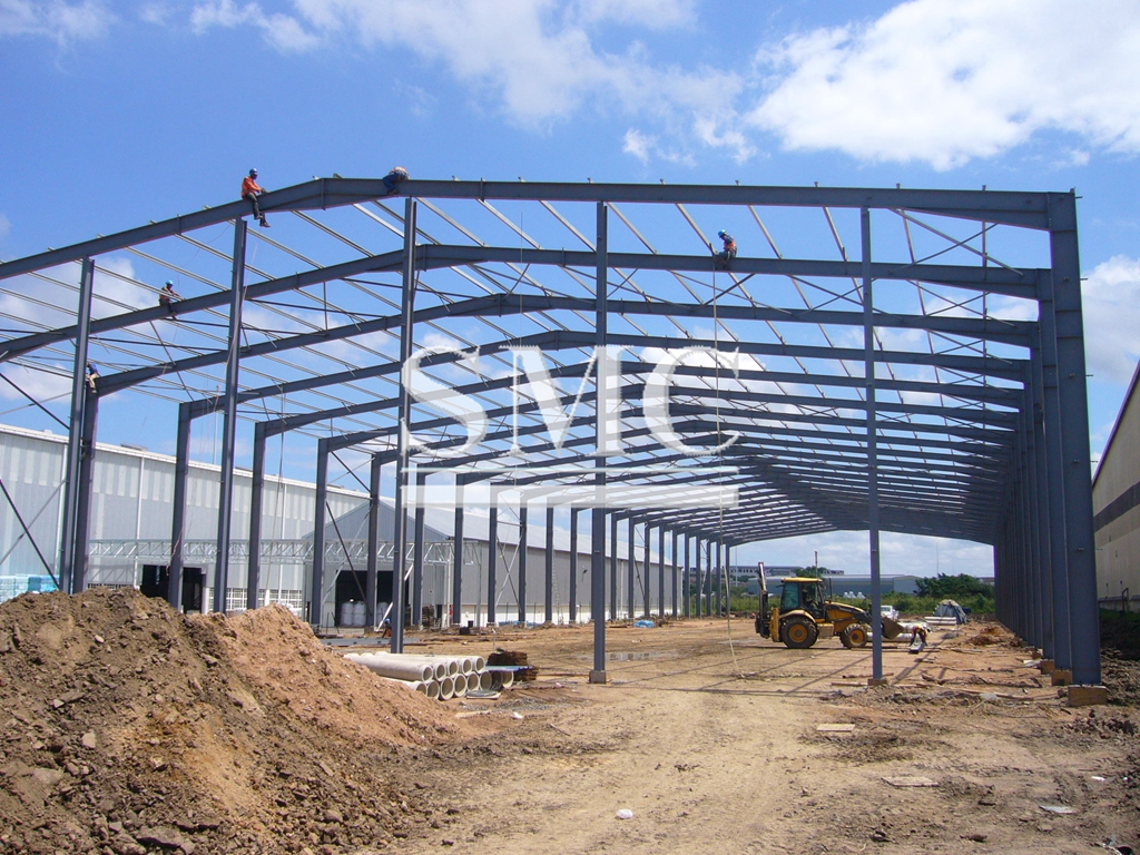 What are steel frame structures famous for?