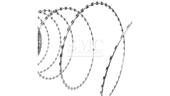 stainless steel barbed wire  razor wire
