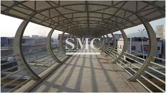 Prefabricated Pedestrian Bridge Price Supplier