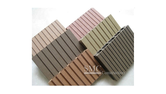 Wood plastic composite deck wpc deck shanghai metal for Best composite decking brand 2016