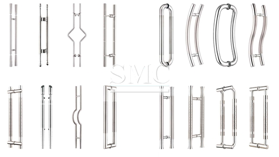 Stainless steel hollow section for door handle shanghai
