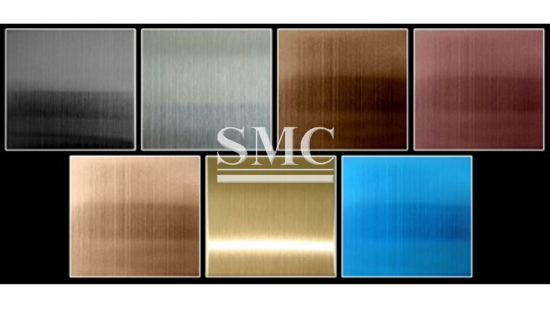 Pvd Coating Coloured Stainless Steel Sheet Shanghai