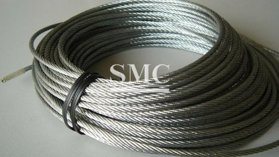 3 mm Wire Rope Zinc Steel Rope Cable Rigging Price Per Meter FREE DELIVERY