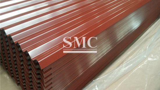 Prepainted Cgi Sheet Corrugated Galvanized Iron Sheet