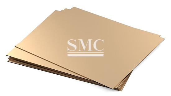 Bronze Metal 2,0mm CuSn 6 Bronze Plate Bronze Metal Plate Bronze Plate Bronze