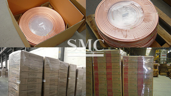 Packaging of LWC Copper Tube Coil