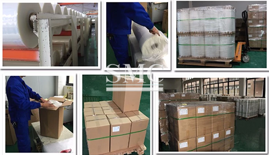 co-extruded film packing